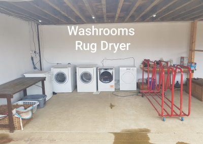 washroom rug dryer